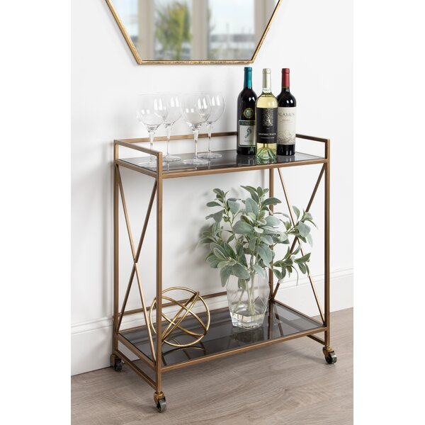 Kangley Bar Cart by Mercer41