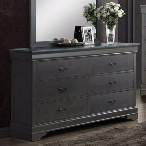 Loree 6 Drawer Double Dresser By Darby Home Co by Darby Home Co Coupon