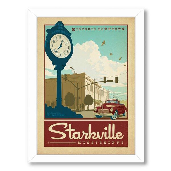 Starkville Framed Vintage Advertisement by East Urban Home