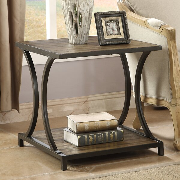 Snelling End Table by Ivy Bronx