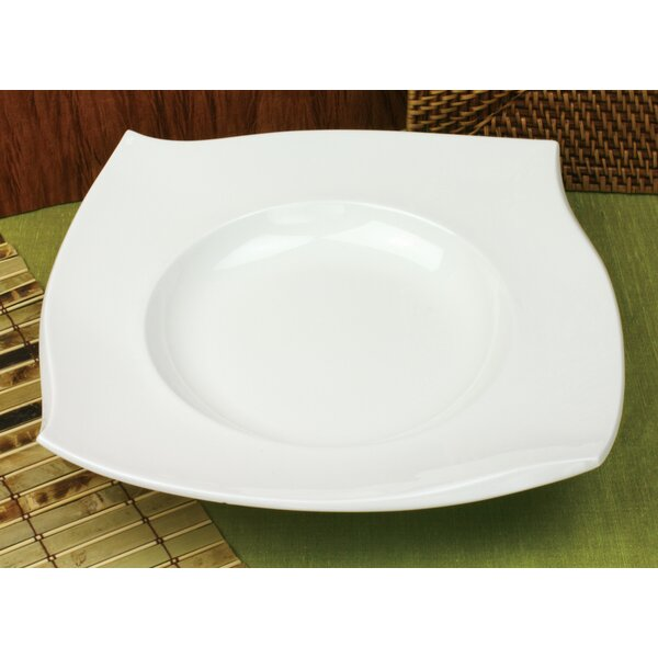 Crescent 12.25 Pasta Plate (Set of 4) by Omniware