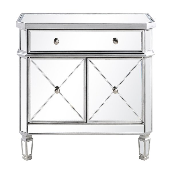 Nicci 1 Drawer Accent Cabinet by House of Hampton