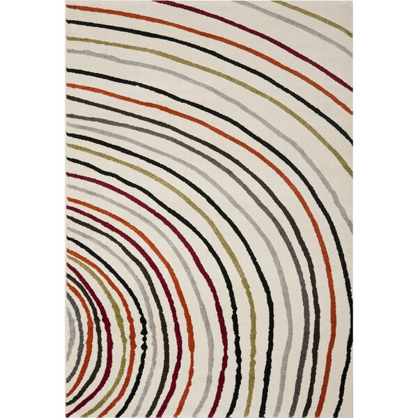 Burwan Ivory Area Rug by Latitude Run