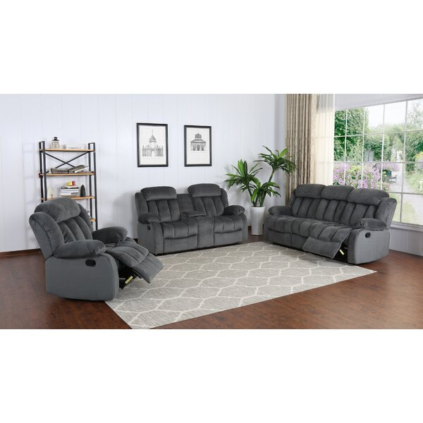 2 Madison Reclining 3 Piece Living Room Set By Sunset