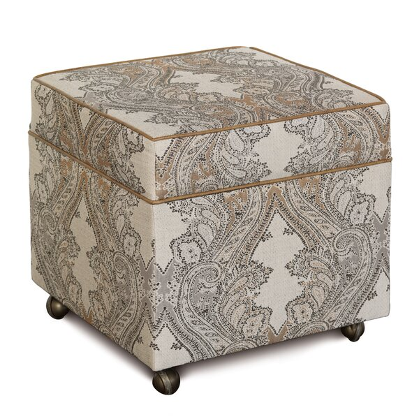 Aiden Storage Ottoman by Eastern Accents