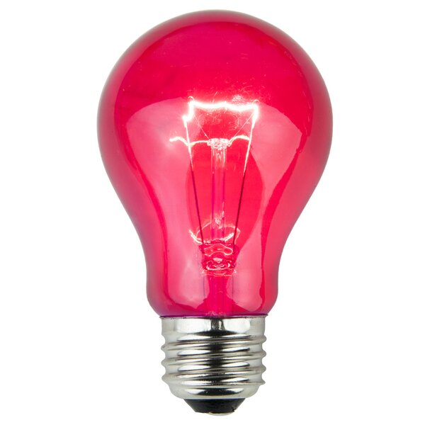 25W Pink 130-Volt Light Bulb (Pack of 25) by Wintergreen Lighting