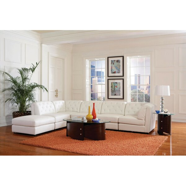 Kelston Mills Modular Sectional with Ottoman by Latitude Run