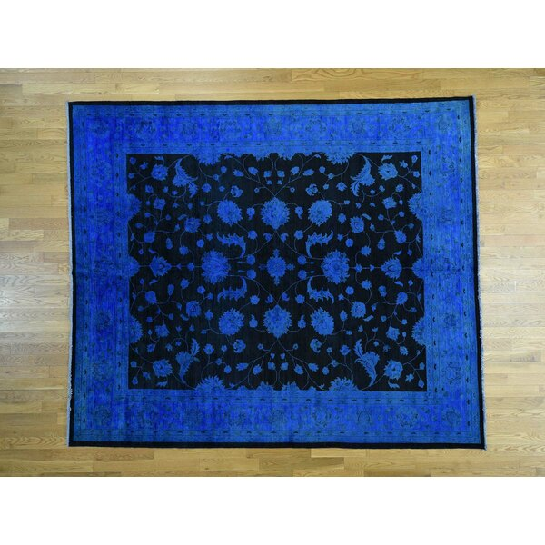 One-of-a-Kind Beaumont Overdyed Mahal Handwoven Wool Area Rug by Isabelline