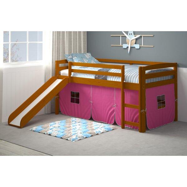 Karyn Twin Loft Bed with Tent by Harriet Bee
