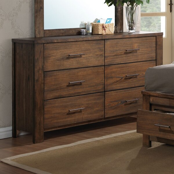 Lars 6 Drawer Double Dresser by Millwood Pines
