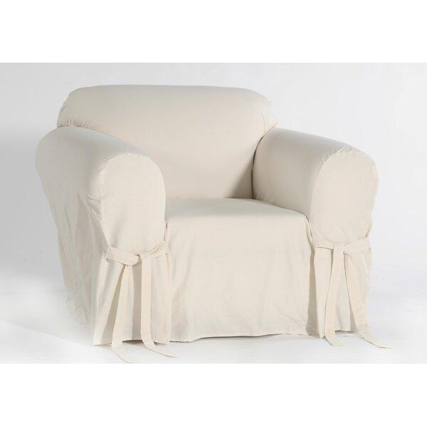 Box Cushion Armchair Slipcover by Alcott Hill