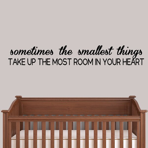 Sometimes the Smallest Things Wall Decal (Set of 3) by Zoomie Kids