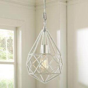 Diamond Cut 1-Light Mini Pendant