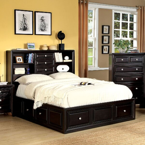 Mattapan Storage Platform Bed by A&J Homes Studio