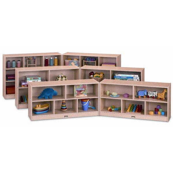 Folding 10 Compartment Shelving Unit with Locks by Jonti-Craft