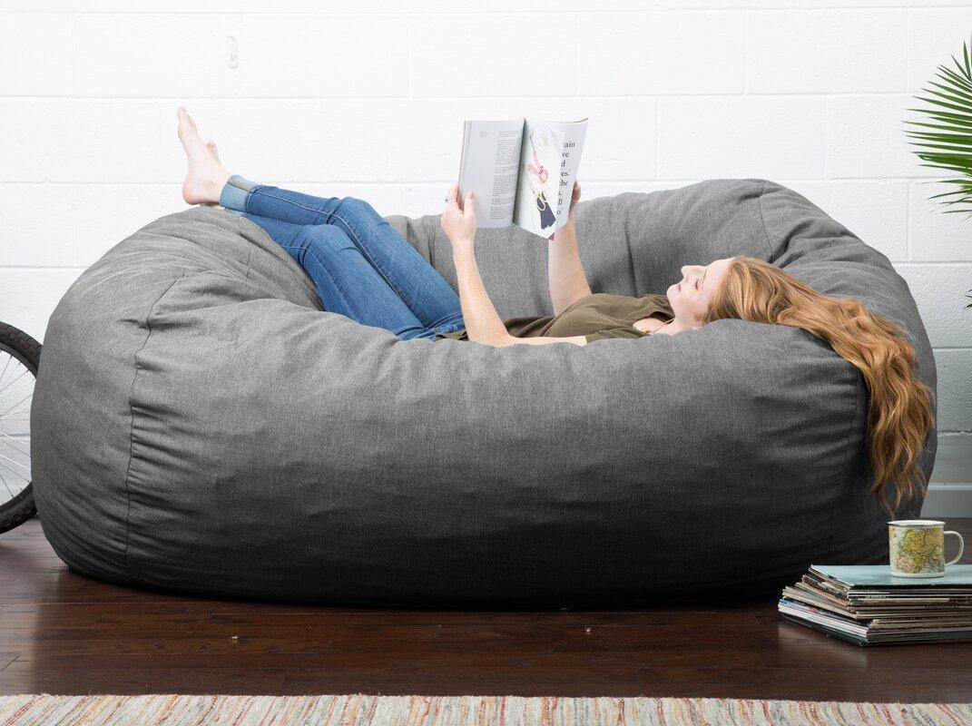 default_name - Comfort Research Big Joe Lux Bean Bag Sofa & Reviews Wayfair