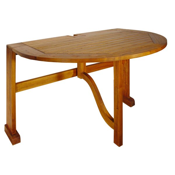 Terrace Mates Bistro Half Oval Dining Table by Blue Star Group