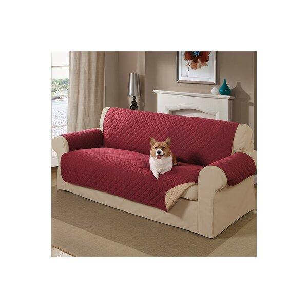 Reversible Sofa Slipcover by Alcott Hill