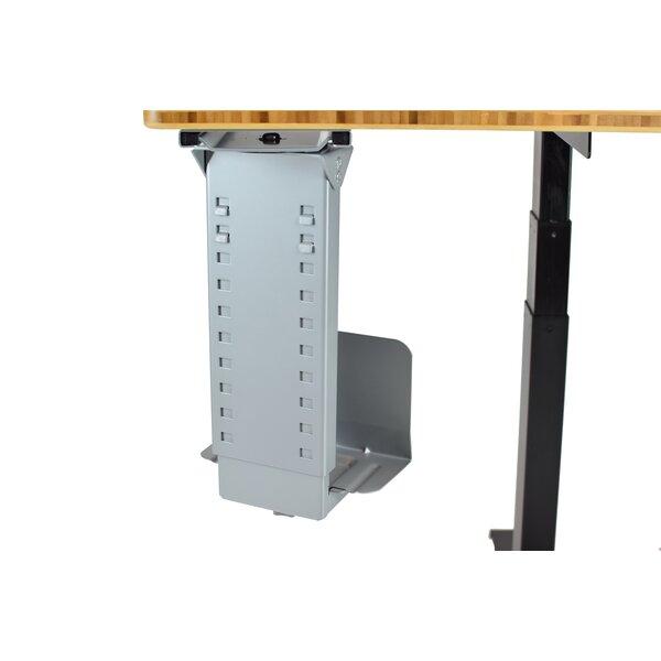 21 H x 5.75 W Desk CPU Holder by Uncaged Ergonomics