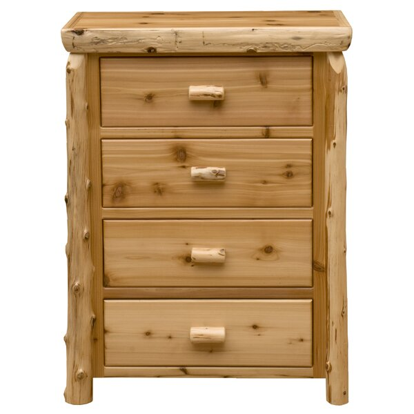Premium Cedar 4 Drawer Chest by Fireside Lodge