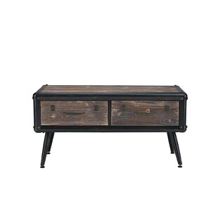 Best Glenwood Entryway Coffee Table with Storage By Williston Forge