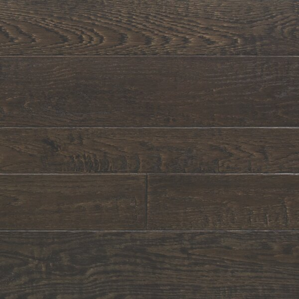 Random Width Engineered Oak Hardwood Flooring in Royal Brown by Somerset Floors