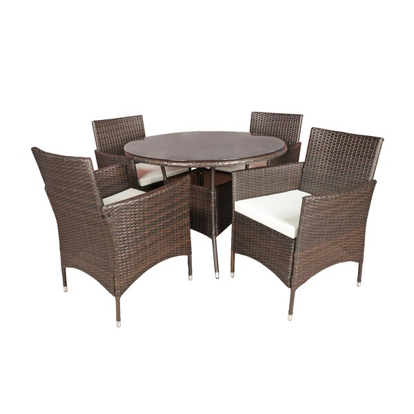 Brannigan 5 Piece Dining Set by Ivy Bronx