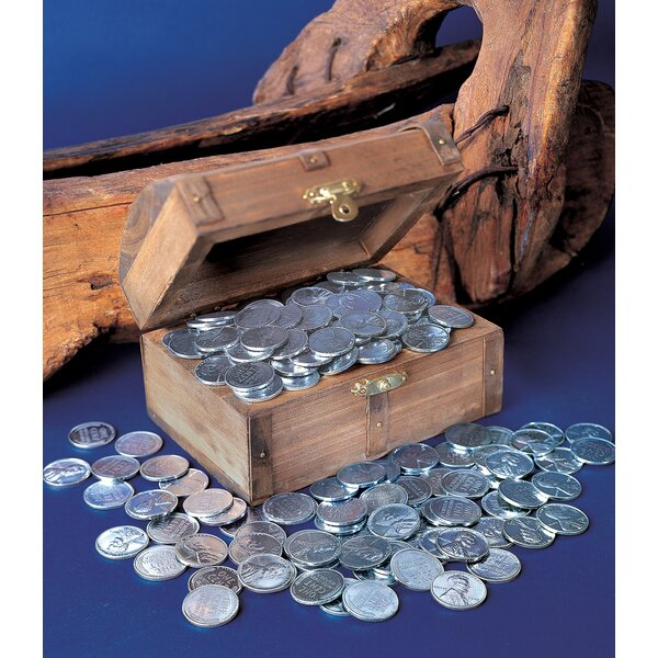 1943 Lincoln Steel Pennies Treasure Chest by American Coin Treasures
