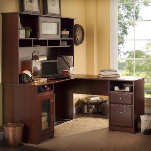 Toledo L Shaped Executive Desk With Hutch