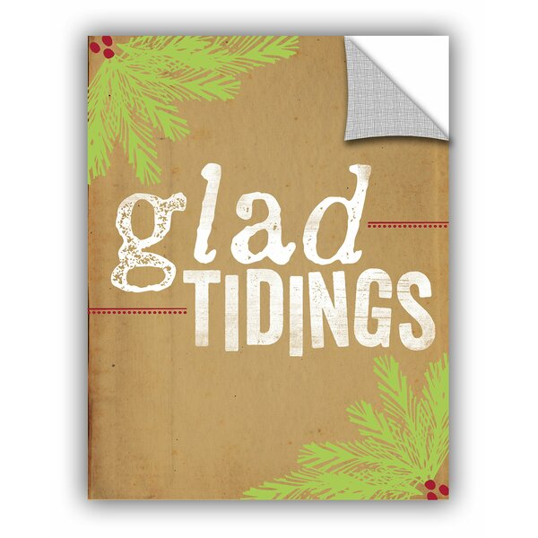 Glad Tidings Wall Mural by The Holiday Aisle