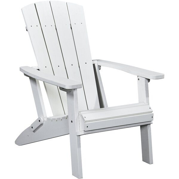 Polina Plastic/Resin Folding Adirondack Chair by Highland Dunes Highland Dunes
