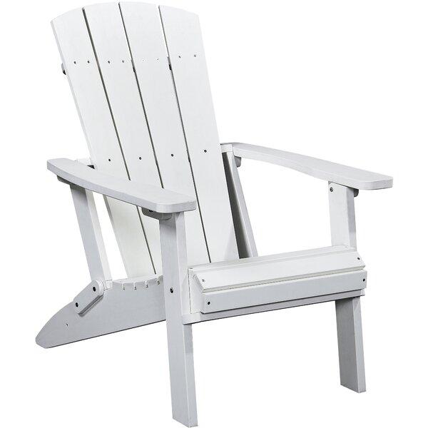 Polina Plastic/Resin Folding Adirondack Chair by Highland Dunes Highland Dunes