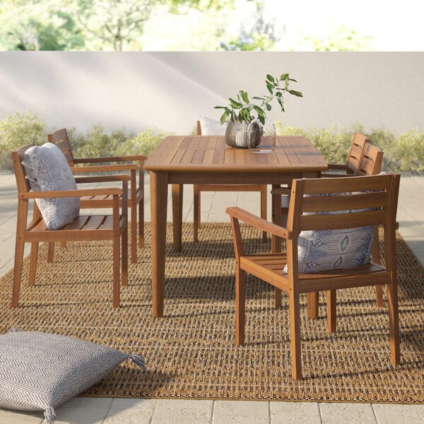 Kassidy Outdoor 7 Piece Dining Set by Mistana
