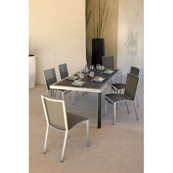 Dripper 7 Piece Dining Set by Les Jardins