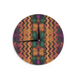 Nina May 'Harvesta' 12 Wall Clock by East Urban Home