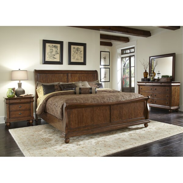 Oreana Sleigh Configurable Bedroom Set by Three Posts