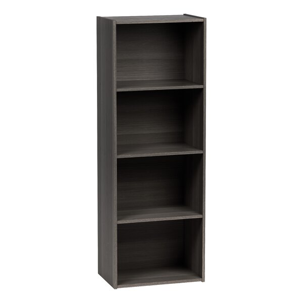 4 Tier Wood Storage Standard Bookcase by IRIS USA, Inc.
