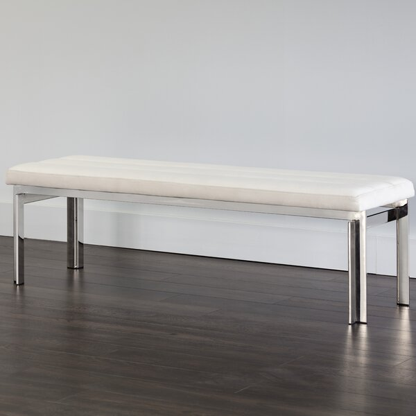 Myrah Upholstered Bench by Sunpan Modern