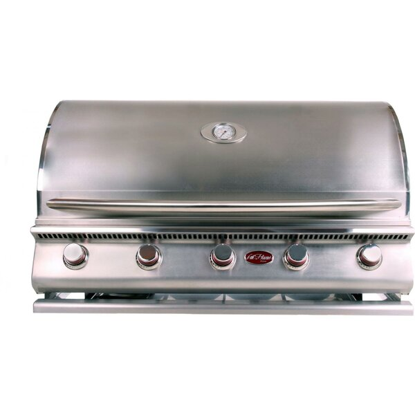 G-Series 5-Burner Built-In Propane Gas Grill by Cal Flame