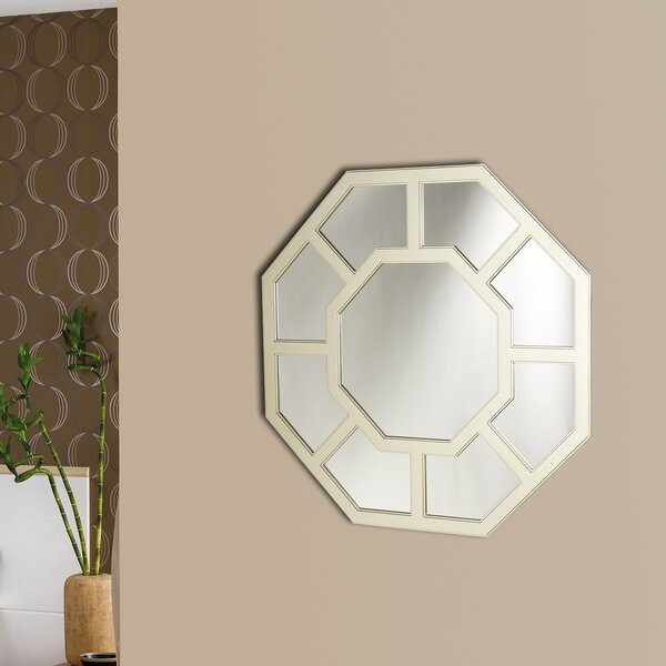 Farrington Gurney Framed Wall Mirror by Charlton Home