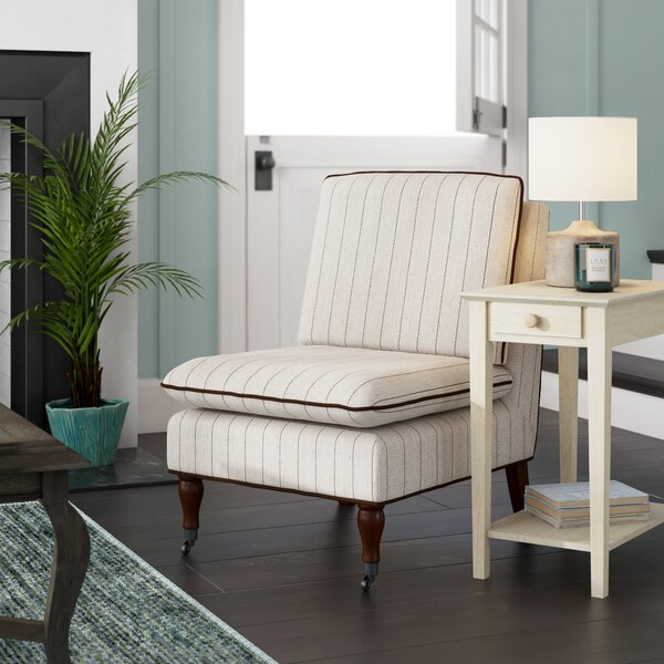 Olive Slipper Chair by Highland Dunes