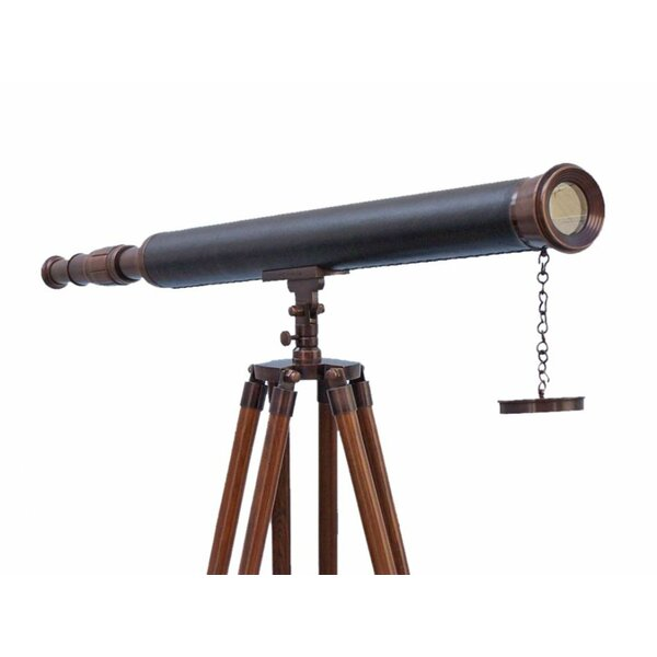 Refracting Telescope by Handcrafted Nautical Decor
