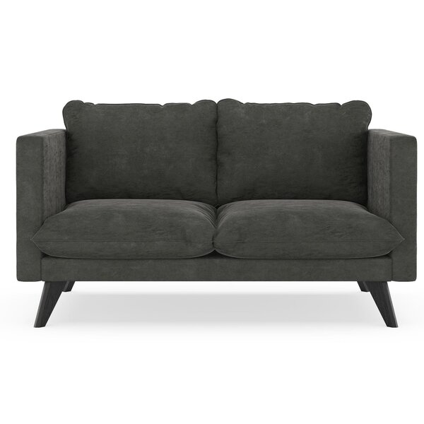 Cowgill Micro Suede Loveseat by Corrigan Studio