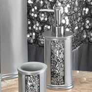 Brunilda Bedazzled Bling Heavy Resin Soap & Lotion Dispenser by House of Hampton