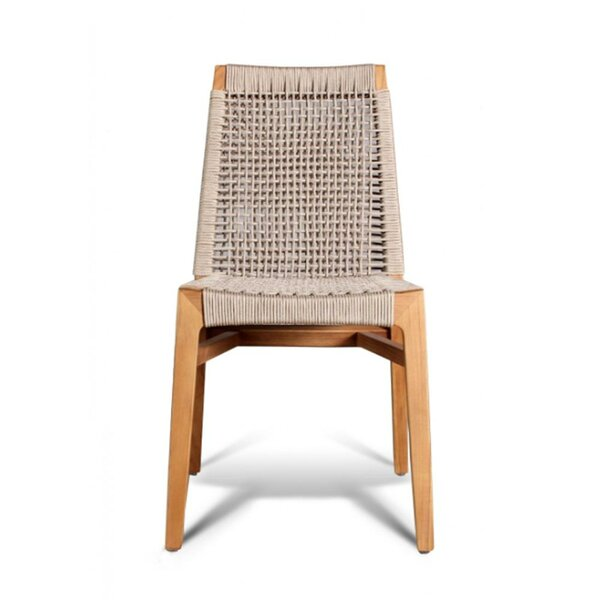 Stacking Teak Patio Dining Chair by GAR