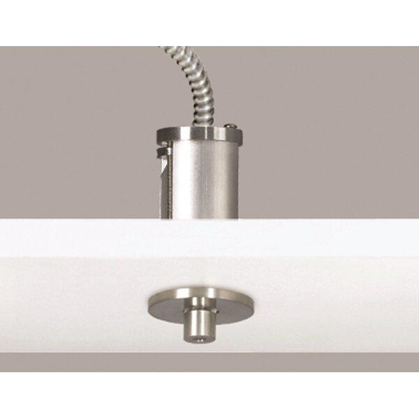 Line-Voltage Semi Flush Canopy by Tech Lighting