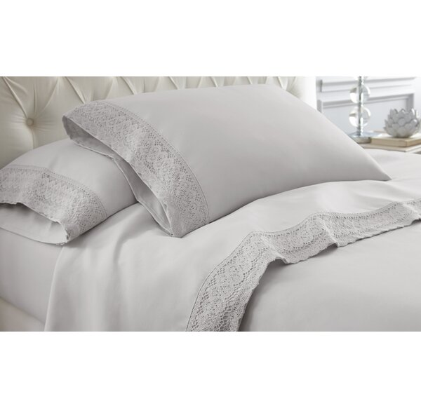Yate Crochet Lace Sheet Set by Mistana