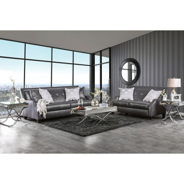 Olivia Configurable Living Room Set by House of Hampton