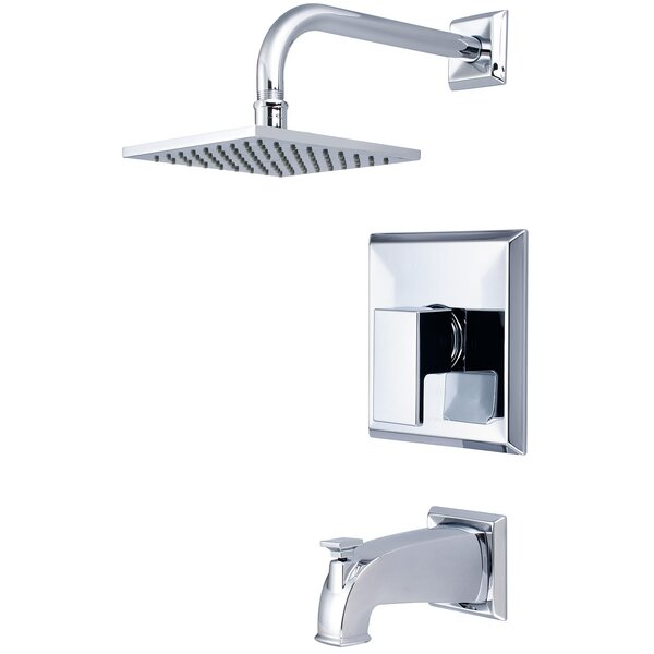Mod Single Lever Handle Tub and Shower Trim Set by Pioneer