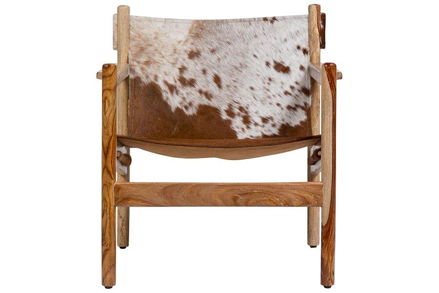 Curtis Cowhide Arm Chair